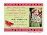 Birthday Invitation Write Up 2nd Birthday Invitation Wording A Birthday Cake