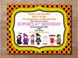 Birthday Invitation Write Up Halloween Costume Party Custom Birthday Printable Invitation