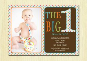 Birthday Invitations For 1 Year Old Boy Invitation Cards Best Party