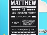 Birthday Invitations for 13 Year Old Boy Best 25 Teen Birthday Invitations Ideas On Pinterest