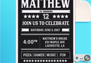 Birthday Invitations For 13 Year Old Boy Best 25 Teen Ideas On Pinterest