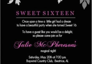 Birthday Invitations For 16 Year Old Boy Teen Party Invitation Wording Ideas From Purpletrail
