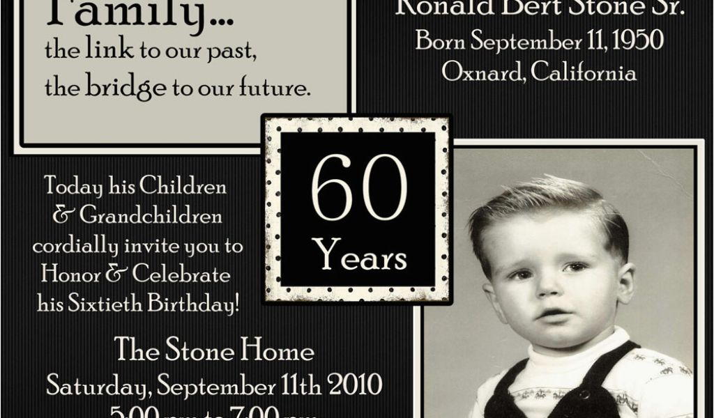 Download By SizeHandphone Tablet Desktop Original Size Back To Birthday Invitations For 60 Year Old Man