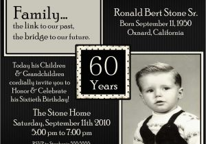Birthday Invitations For 60 Year Old Man 20 Ideas 60th Party Card Templates