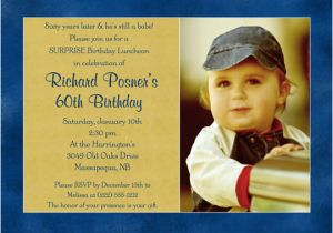 Birthday Invitations For Two People 60th Men Bagvania Free