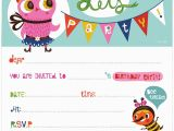 Birthday Invitations Maker Free Online Kids Birthday Invite Template Birthday Invitation Maker