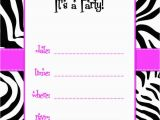 Birthday Invitations Templates Free Printable 50 Free Birthday Invitation Templates You Will Love