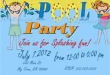 Birthday Invitations to Print at Home Pool Party Invitations Diy Custom Printable Birthday Party