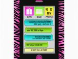 Birthday Invitations Via Text Message Text Message Sweet 16 Party Invitations 5 Quot X 7 Quot Invitation