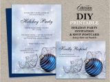 Birthday Invitations with Rsvp Cards Christmas Party Invitations with Rsvp Cards Diy Printable