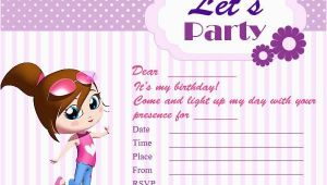 Birthday Invite Cards Free Printable Printable Birthday Invitation Cards