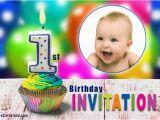 Birthday Invite Ecards 1st Birthday Invitation Choose Ecard From Invitations