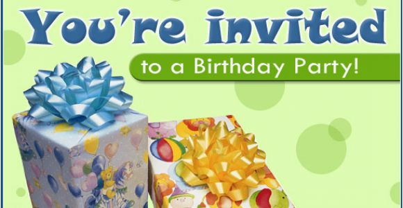 Birthday Invite Ecards Free Party Ecard Email Personalized