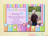 Birthday Invite for 2 Year Old Girls Lollipop Birthday Party Invitation Diy Printable
