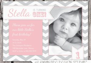Birthday Invite For 2 Year Old One Party Invitation Wording