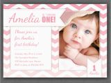 Birthday Invite Message for 1 Year Old Free One Year Old Birthday Invitations Template Drevio