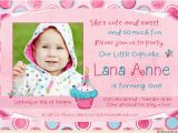 Birthday Invite Message for 1 Year Old One Year Old Birthday Party Invitations Ideas Drevio