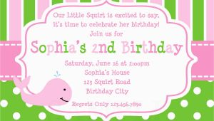 Birthday Invite Message for Girl 21 Kids Birthday Invitation Wording that We Can Make