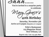 Birthday Invite Messages for Adults Birthday Invite Messages for Adults Black Damask Surprise