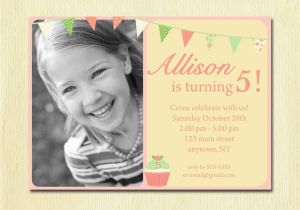 Birthday Invite Wording For 7 Year Old 5 Party Invitations Best Ideas