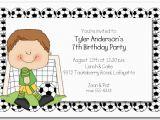Birthday Invites for Boys Boys soccer Time Party Invitations soccer Invitations