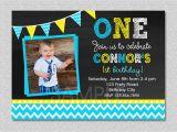 Birthday Invites for Boys Chalkboard Birthday Invitation Chevron Chalkboard Boys