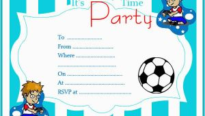 Birthday Invites for Boys Free Printable Birthday Invitations Random Talks