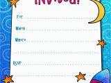 Birthday Invites for Boys Free Printable Boys Birthday Party Invitations Birthday