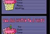 Birthday Invites Free Printable Free Printable Birthday Invitation