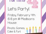Birthday Invites Free Printable Free Printable Birthday Invitation Templates
