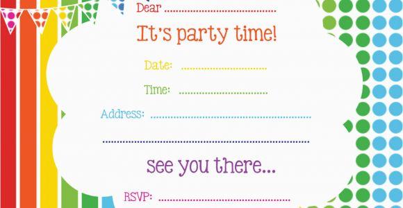 Birthday Invites Free Printable Free Printable Birthday Invitations Online Bagvania Free