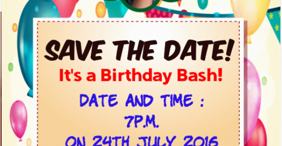 Birthday Invites with Photo Birthday Invitation with Photo android Apps On Google Play
