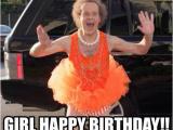 Birthday Meme Female Girl Happy Birthday