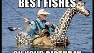 Birthday Meme Fishing Giraffe Birthday Memes Wishesgreeting