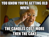 Birthday Meme Getting Old Sinecore Sinecode Sylvain Colmant is Giving Away their