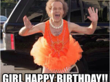 Birthday Memes for Girl Girl Happy Birthday