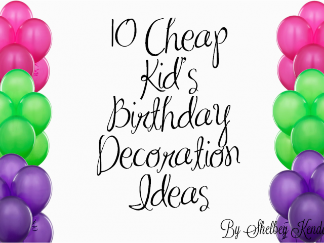 Download By SizeHandphone Tablet Desktop Original Size Back To Birthday Party Decorating Ideas On A Budget