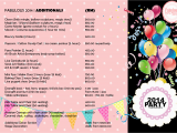Birthday Party Decoration Packages event Planner Manager Dinner Family Day Management Kids