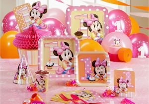 Birthday Party Decorations For Baby Girl Fresh First Decoration Ideas At Home