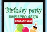 Birthday Party Invitation Apps the Best Birthday Invitation and Greeting Cards
