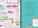 Birthday Party Invitation Message for Adults Funny Birthday Invitation