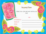Birthday Party Invitation Templates Word Birthday Party Invitations Microsoft Word Templates