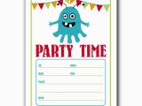 Birthday Party Invitation Templates Word Free Birthday Party Invitation Templates for Word