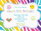 Birthday Party Invitations Free Printable Templates 5 Images Several Different Birthday Invitation Maker