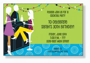 Birthday Party Invite Wording Adults Adult Invitation Cimvitation