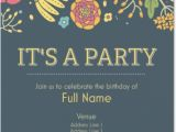 Birthday Party Invites for Adults Birthday Party Invitations From Vistaprint 40 Off Coupon