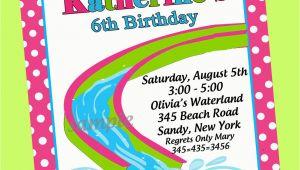 Birthday Pool Party Invitation Wording Birthday Pool Party Invitations Template Best Template