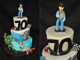 Birthday Present for 70 Man Milestone 70th Birthday Cake thebakeboutique