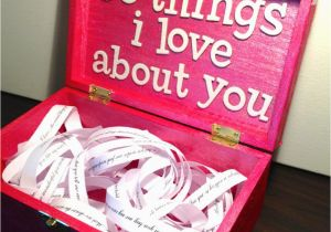 Birthday Present for Boyfriend Handmade Valentine S Day 50 Things I Love About You Wreck This