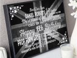 Birthday Present for Him Uk Personalised 16th Birthday Gifts with On Screen Previews